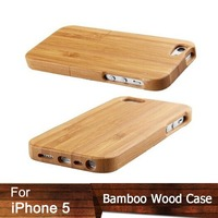 New Arrvail Carbonized Bamboo Wood Wooden Case for iphone5 Carving Natural Bamboo Back Cover For Apple Iphone 5 5s case