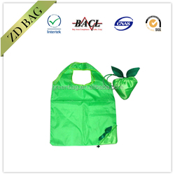 personalized fold up polyester reusable bag