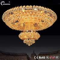project lights led garage ceiling light luxury glass ceiling lamp for hotels