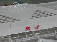 3D animation architectural building models for public airport