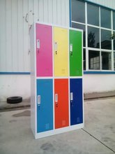 good price office furniture colorful knocked down file cabinet