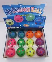 Rubber Star Flashing Bouncing Ball