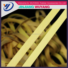 2015 latex elastic rubber bands for swimwear and underwear natural rubber products natural latex rubber for sale