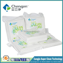 Laser cutting polyester cleaning cloth, 1009DLE wipers