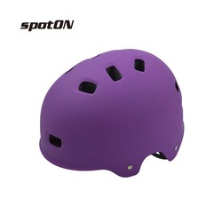Children scooter helmet fashion, ABS shell with pattern, high-grade helmet