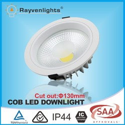 Round frame 12w led ceiling downlight with CE&RoHS Approval