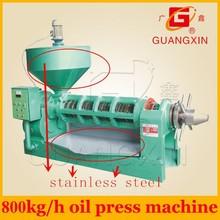 yzxy168 de gran capacidad de tornillo prensa de aceite con precio factroy
