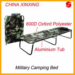 CHINA XINXING Aluminum Nylon/ Polyester travel bed folding camping bed camping equipment