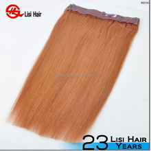 New Beauty Products 2 Pieces Fashion Wholesale Flip Hair Extension 100g and 140g