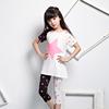 Guangzhou wholesale children's boutique girls clothing set