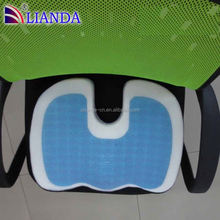 chinese brand gel cushion,china factory cool mat,cooling gel queen memory foam cushion