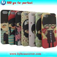for apple iphone 5S case custom design full printing rubber oil painting