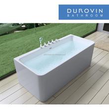 acrylic bathtub with faucet new design