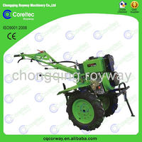 Ploughing tools recoil start 5-12hp rototiller mini gasoline 5.5hp farming rototiller for lowes
