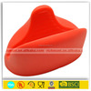 promotional logo printed wholesale silicone pig oven mitt