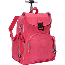 Promotional Commercial Kids Travel Trolley Bag Backpack 2015