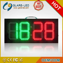 hot sale 7 segment LED soccer substitution board