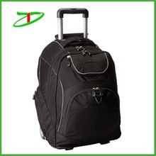 High quality big capacity multi functional durable laptop rolling bag