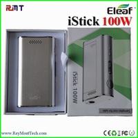 Original Cheap Price Variable Wattage and Voltage Mod 100 Watt E cigarette Eleaf Istick 100W In Stock!!