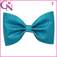Hot Selling Glitter Hair Ornaments Fashion Hair Bow With Clip For Girls CNHBW-14120901-4W2