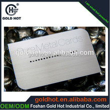 2015 Most popular high quality custom metal business card