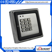 specialized suppliers standalone rfid access controller/waterproof remote access control