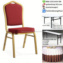 discount hotel gold banquet dining chair