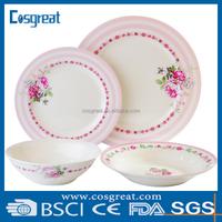 melamine dinnerwares plastic dinnerware sets