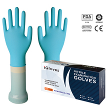 Pidegree jersy liner nitrile gloves/disposable working gloves