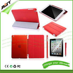 Hot New Product Folding Stand Leather Tablet Cover for ipad pro 12.9 case
