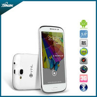 Hot sale! 5 inch MTK6589 quad core Thl W8 build in 1GB+4GB android 4.1 smart phone