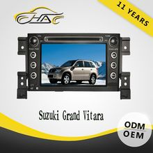 OEM ODM hd dvd for suzuki grand vitara car dvd gps navigation system