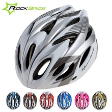 2015 New ROCKBROS Cycling Men's Women's Helmet EPS Ultralight MTB Mountain Bike Helmet Comfort Safety Helmet Free Size,7Colors