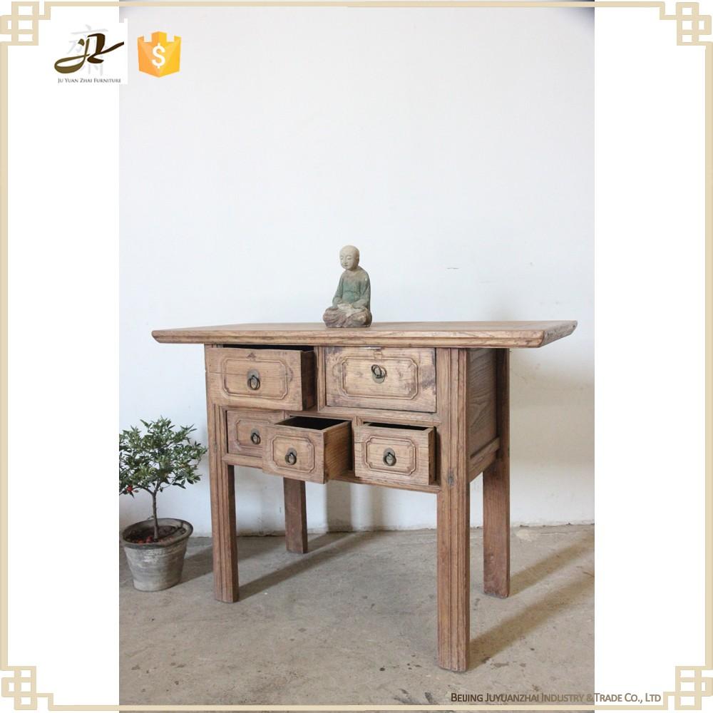 골동품 빈티지 중국 거실 가구 단단한 나무 사이드 테이블-목재 ...