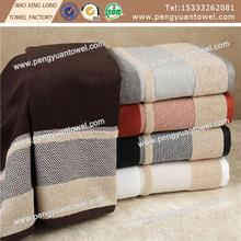 high quality personalized 100% carded cotton soft terry jacquard dobby border bath towel