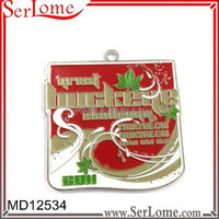 2015 newly custom metal medal/medallions plastic sports medal