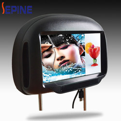 9 inch car back seat lcd screen ,car tft lcd monitor for taxi advertising