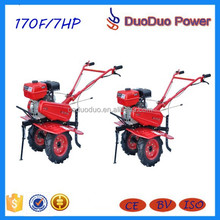 ChongQing 170F Micro Agric Cultivator Trailer With CE (1WG4.0-105FQ-DL)