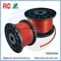8GA 8AWG CCA Red Power Cable Wire for Heat Resistance Car Audio