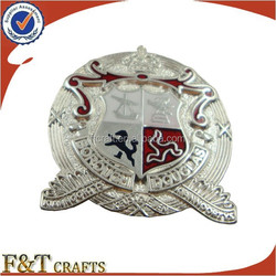 gift metal special forces badges with adhesive back