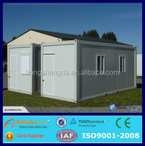 Prefab shipping container home kits solar power container for Shipping container kit homes