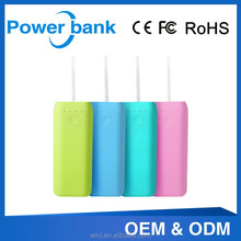 2015 Visssvi factory directly selling power bank 5200amh suitable for business gifts and long journey with weight of 95g
