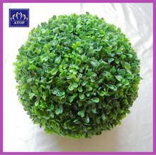 palle di erba artificiale bosso arte topiaria per la casa giardino di nozze decorazione