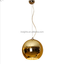 classic bestselling modern ball glass hanging pendant light for hotel home by Tom Dixon