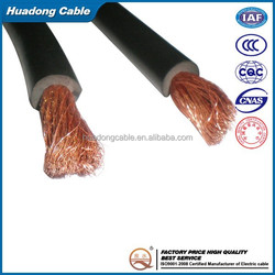 Rubber Insulated 1/0AWG 2/0AWG 4/0AWG 2AWG Welding Cable