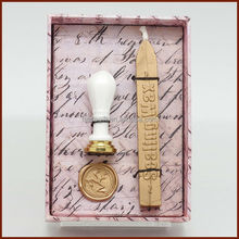 Competitive price supply sealing wax stamp set/stamp in wax/custom logo wax seal stamps