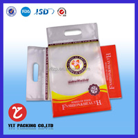 Moisture Proof Feature and Accept Custom Order Transparent hanging slot cellophane opp bags with white header