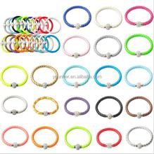 TOP quality PU leather Bracelet Handmade Shamballa Bracelet with magnetic clasp Bangle Cuff Wholesale Multi