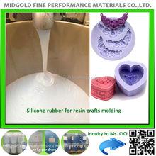 FDA grade liquid silicon rubber to make mold for molding