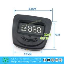 GPS Car HUD Green LED GPS Head Up Display by Car Cigarette Lighter Plug and Play Speedometer GPS HUD Speeding Warm XY-HUD203